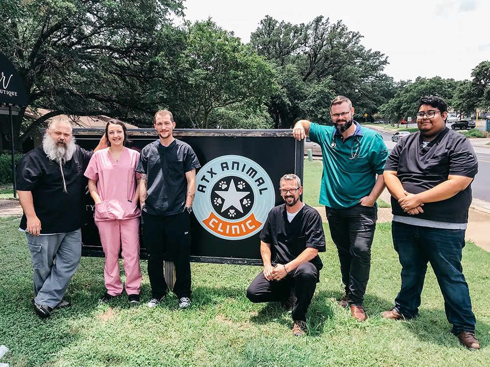 Our ATX Veterinary Staff in Austin